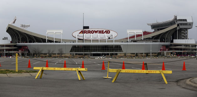 Arrowhead Stadium, Dec. 1, 2012. (Getty Images)