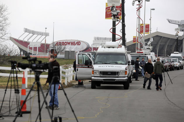 Arrowhead Stadium, 12/1/12. (Getty Images)
