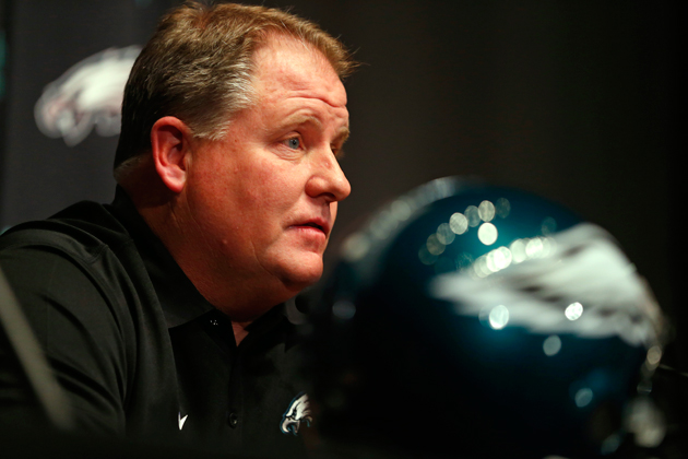 Chip Kelly is now the man in Philly, but will his offense work in the NFL? (Getty Images)