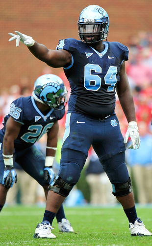 Jonathan Cooper is a big man with a bright future. (Getty Images)