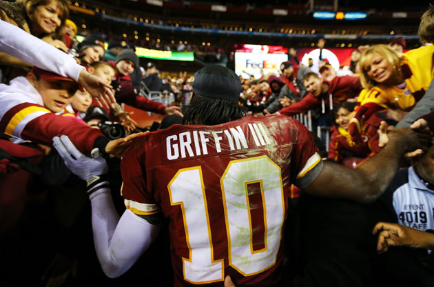 Robert Griffin III. (Getty Images)