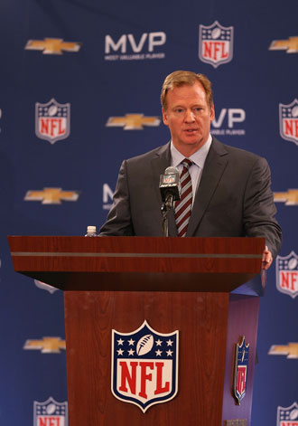 Roger Goodell. (Getty Images)