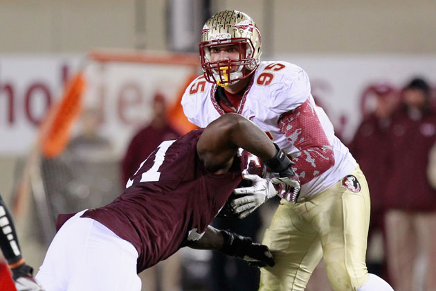 Bjoern Warner while at Florida State. (Getty Images)