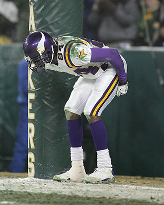 Randy Moss in 2005. (Getty Images)