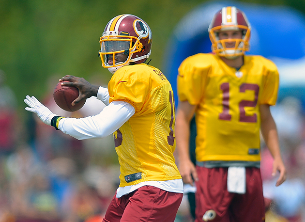 You're being watched, Mr. Griffin III. (Getty Images)