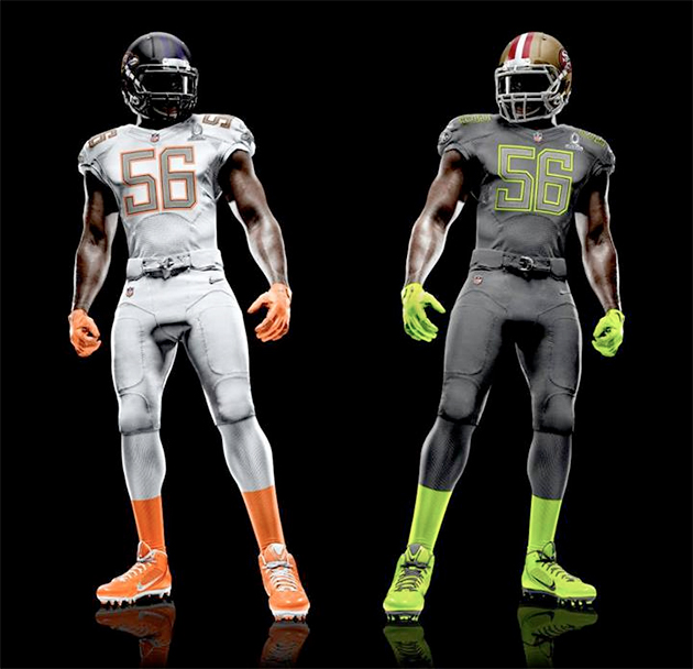 Nike Pro Bowl Uniforms Unveiled Sports Logos Chris