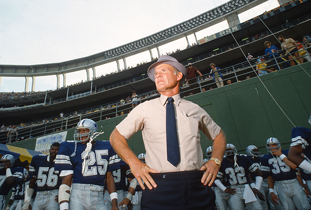 Tom Landry in Dallas, 1978. That there's a MAN, son. (Getty Images)