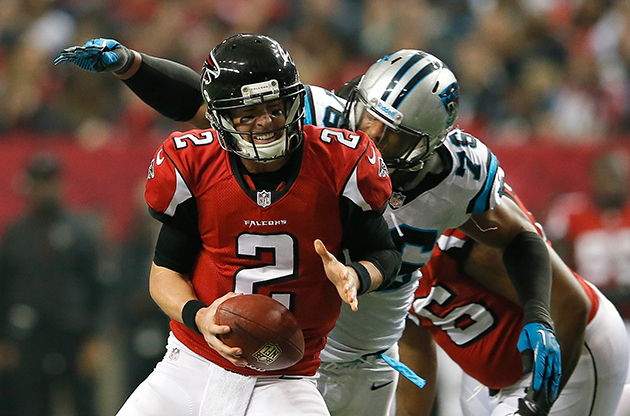Kraken, Matt Ryan. Matt, Kraken. Good luck. (Getty Images)