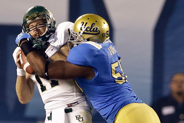 UCLA's Datone Jones impresses with his versatility. (AP)