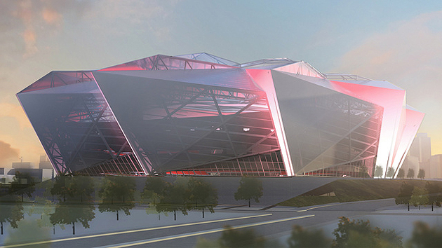 "No, this is not from ""Starship Troopers."" (Atlanta Falcons)"
