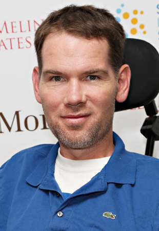 Steve Gleason in May, 2013. (Getty Images)