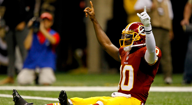 Washington Redskins quarterback Robert Griffin III (US Presswire)