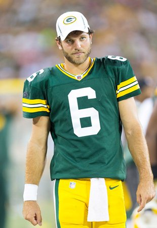 Packers QB Graham Harrell (US Presswire)