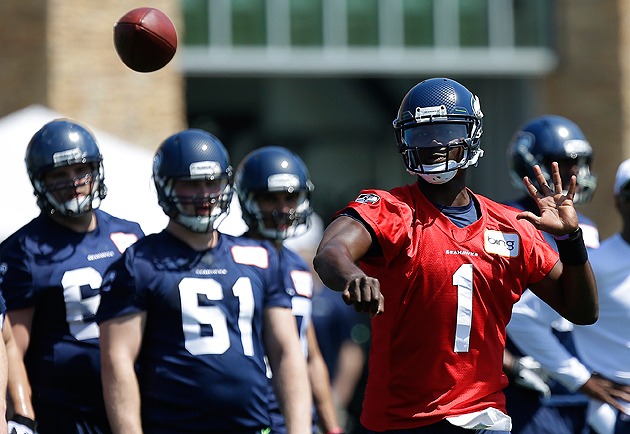 Quarterback Jerrod Johnson could find a place on the roster. (AP)