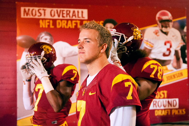 Matt Barkley's college success didn't alleviate all the NFL's concerns. (Getty Images)