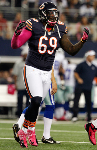 Henry Melton is an underrated cog in Chicago's defense. (AP)