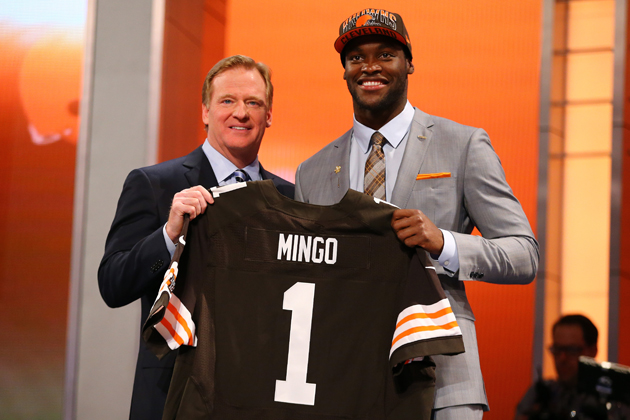 The Cleveland Browns are about to get all Barkevious. (Getty Images)