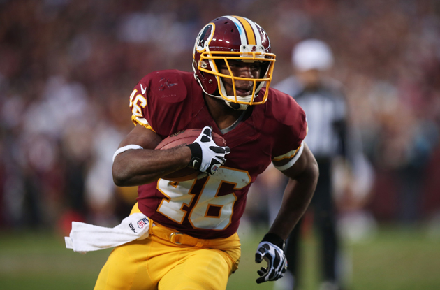 Alfred Morris came out of nowhere to become an NFL star. (Getty Images)