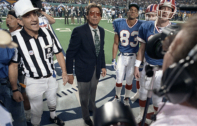 Namath has been no stranger to Super Bowls since. (Getty Images)