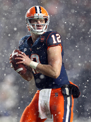 Ryan Nassib just got a cold dose of reality. (Getty Images)