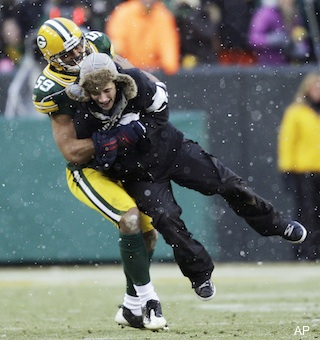 packers takedown