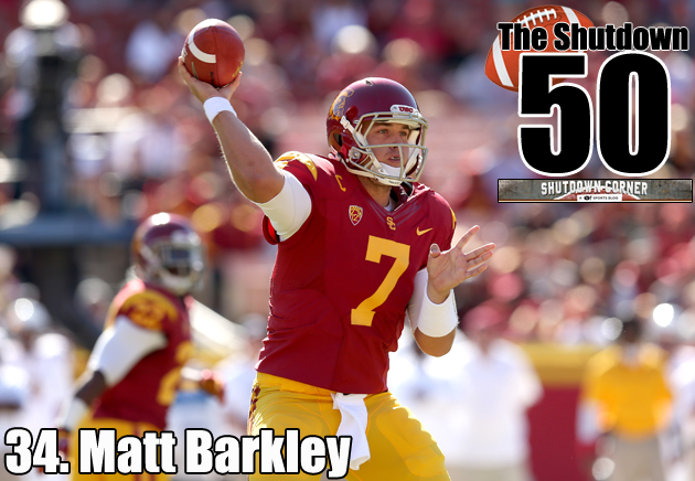 Matt Barkley has the little things covered, but can he make it in a big-play league? (Getty Images)