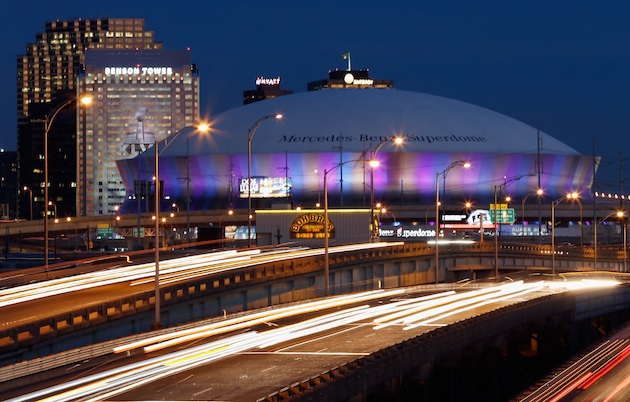The Superdome will be hosting its seventh Super Bowl. (Getty)