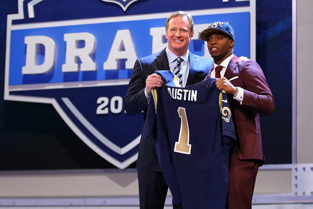 Tavon Austin is learning that there's more to this NFL life than he imagined. (Getty Images)