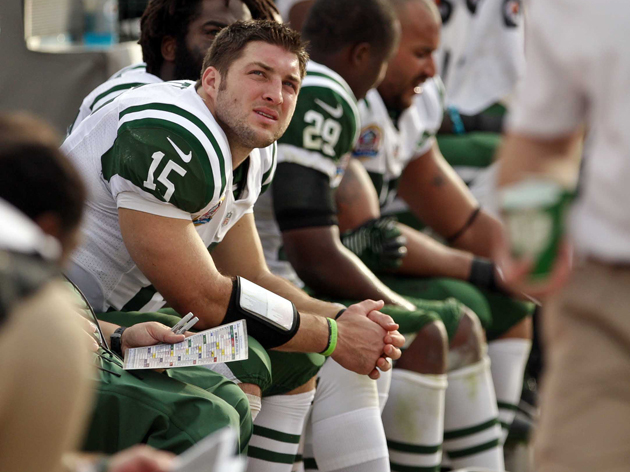Perhaps Tim Tebow should consider an interesting alternative. (USAT Sports Images)