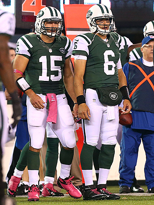 Well, at least Tebow and Sanchez are #1 and #2 in something... (Getty Images)