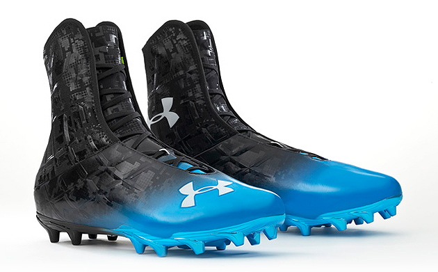 Cam Newton's Highlight cleat. (Under Armour)