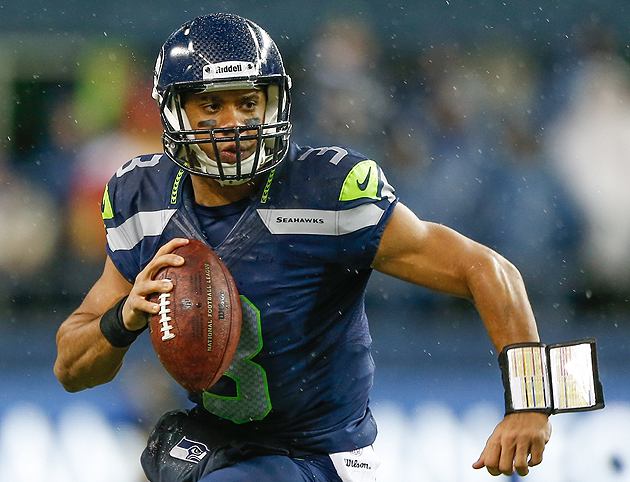 Even when you knew what was coming, you couldn't stop Russell Wilson in 2012. (Getty Images)