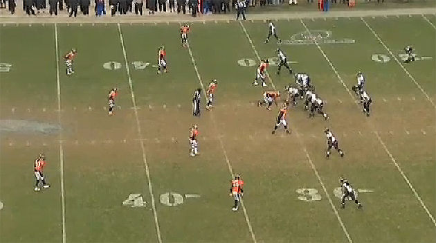 Jacoby Jones' 70-yard TD against Denver. They line up in a four-wide set... (NFL.com)