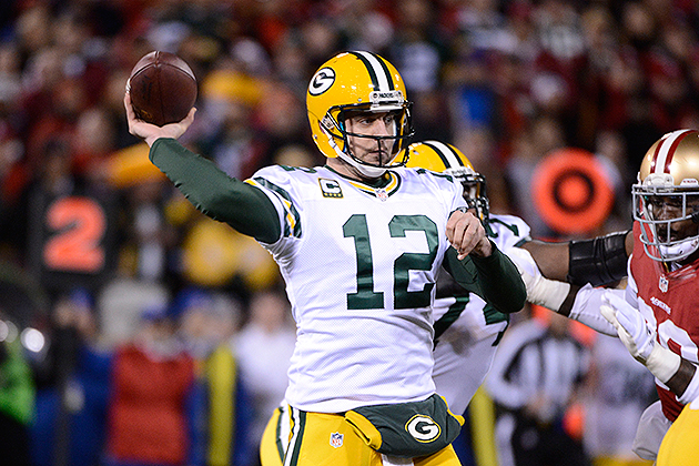 Aaron Rodgers is set to become the NFL's highest-paid player (USA Today Sports Images)