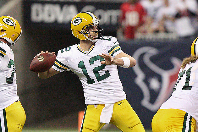 Aaron Rodgers has signed a five-year extension (USA Today Sports Images)