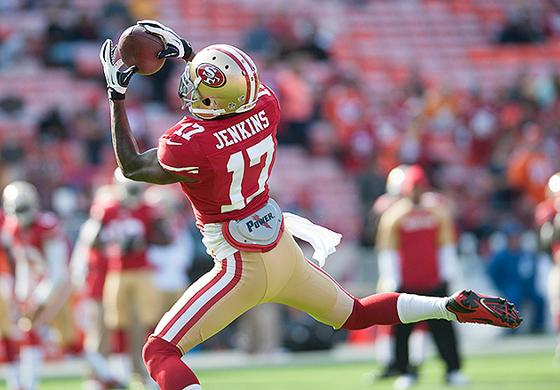 A.J. Jenkins is on the bubble of the 49ers' roster (USA Today Sports Images)