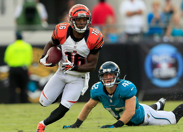 Andrew Hawkins is leaving everyone in the dust. (Getty Images)