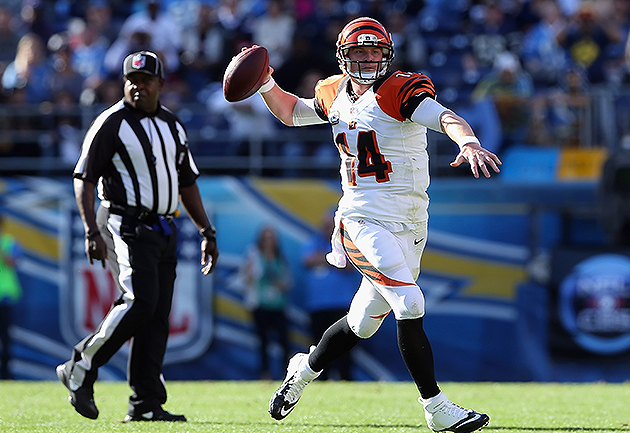Andy Dalton has 11 touchdown passes in his last five games (Getty Images)