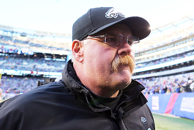 Andy Reid will interview with the Chiefs and Cardinals. (Getty Images)