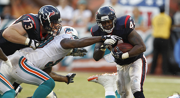 Well, at least the Jets won't have to deal with Ben Tate, too. (AP)