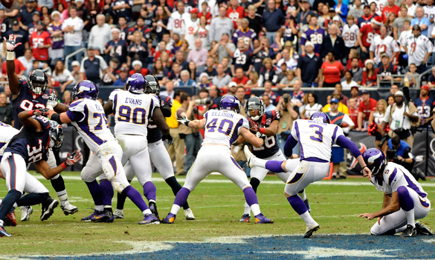 The Blair Walsh Project does it again. (AP)