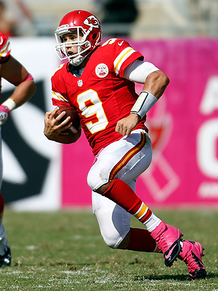 Yes, 'Brady Quinn, Starting Quarterback' is a thing that is happening. (Getty Images)
