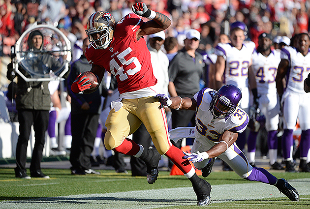 Brandon Jacobs is not enjoying his time in San Francisco (Getty Images)
