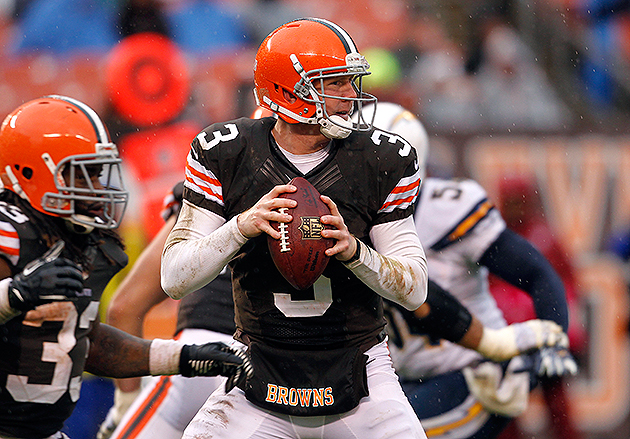 Brandon Weeden will need to earn the Browns' starting job in 2013 (USA Today Sports Images)