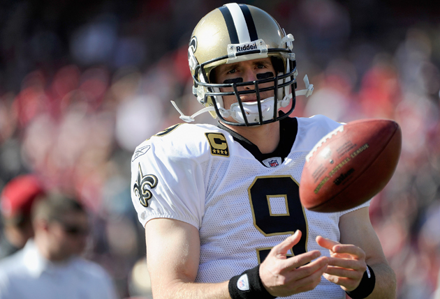 The ball is now most decidedly in Drew Brees' court. (Getty Images)