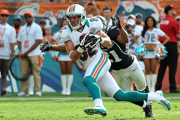 Brian Hartline agreed to a five-year extension (USA Today Sports Images)