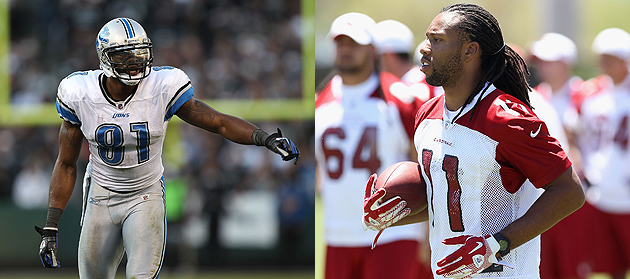 Larry Fitzgerald has quarterback envy ... and he's right. (Getty Images)