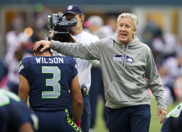 This was a landmark game for Pete Carroll, whether he admitted it or not. (Getty Images)