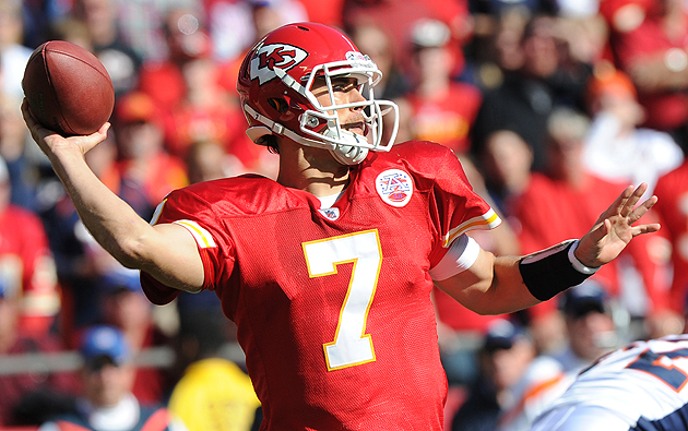 Chiefs QB Matt Cassel is an offseason hero.! (Getty Images)