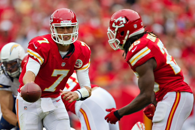 This is the Kansas City Chiefs' entire offensive playbook. (Getty Images)